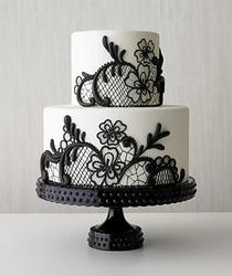 Lace Cake Design